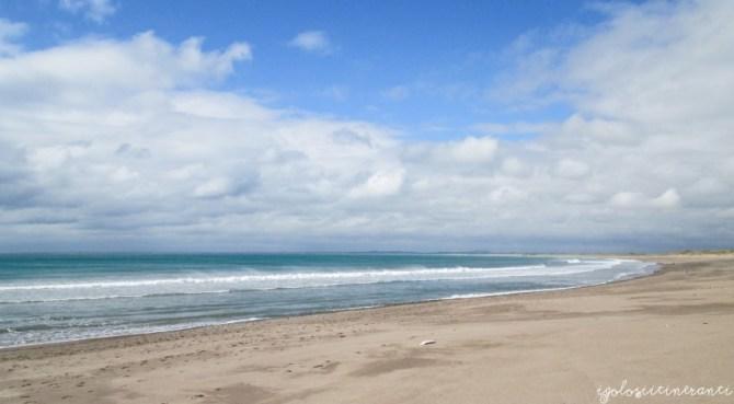 Mare d'Irlanda e spiaggia da Kilmore Quay