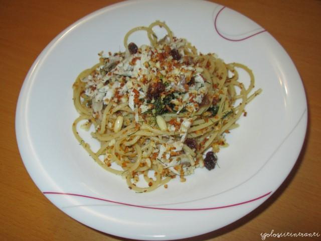 Pasta con le sarde, ricetta siciliana