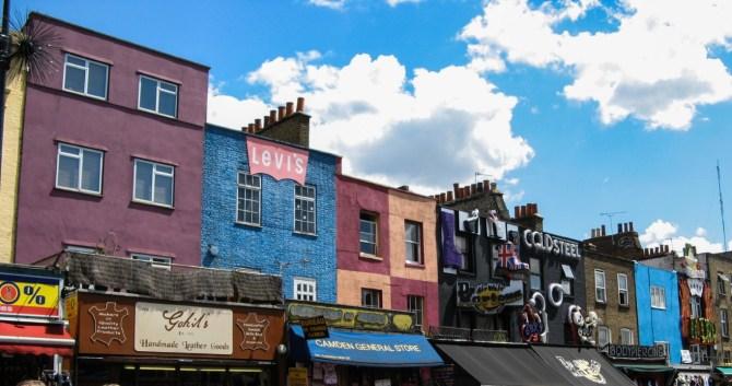 Negozi a Camden Town