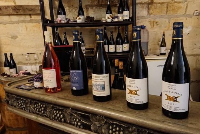 Chateau du Petit Thouars, degustazione vini