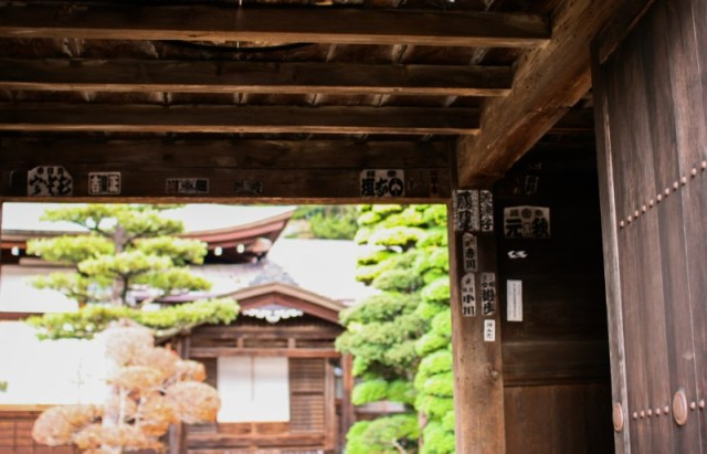Quartiere Teramachi a Takayama: templi e santuari