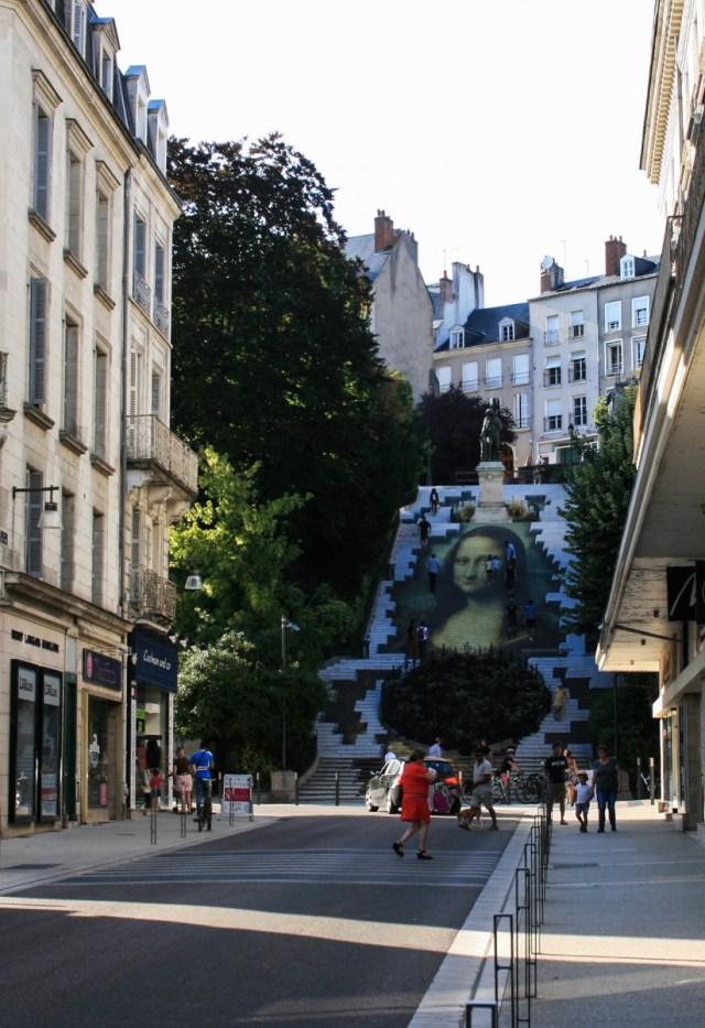 Escalier Denis Papin, Blois