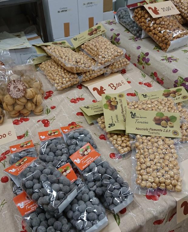 Azienda Agricola Teresina, prodotti a base di nocciole