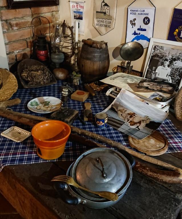 Casa del Trifulau, attrezzi