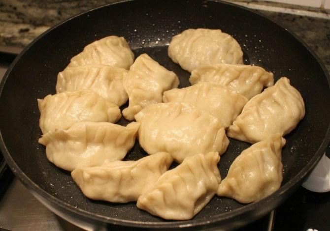 Gyoza giapponesi cottura