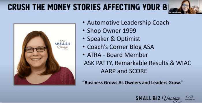 Crush the Money Stories Affecting Your Business