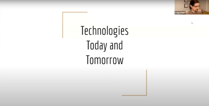 Technologies Today & Tomorrow with Autotext me