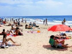 Plage de Tel Aviv
