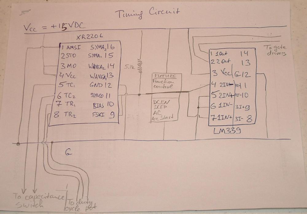 medium resolution of schematic of the timing circuit ac dc welder schematics inverter diagram