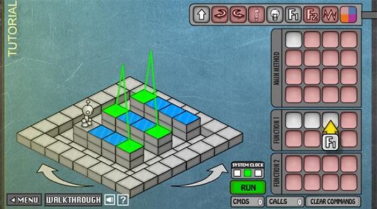 LightBot игра для будущих программистов