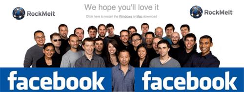 FaceBook и RockMelt