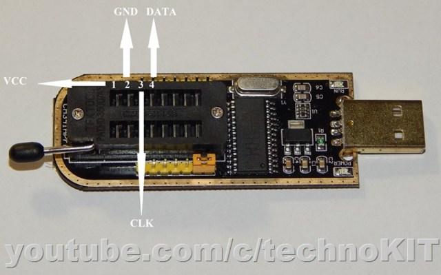 соответствие контактов разъема и платы картриджа SCX-D4200