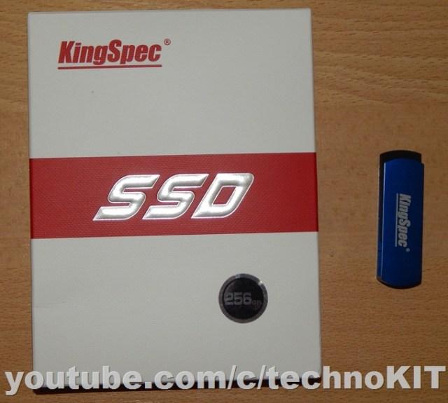 Коробка с SSD KingSpec ACSC4M256S25 на 256 Gb