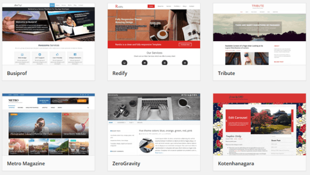 Создание сайта, самостоятельно выбираем тему оформления