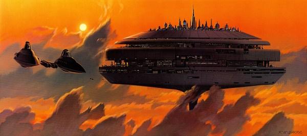 Art Ralph McQuarrie Star Wars Cloud City