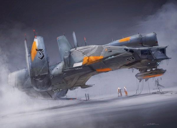 Concept Ships Colie Wertz