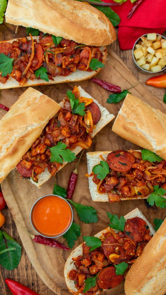 Sosis Bandari - Spicy Sausage and Potato Sandwich | igotitfrommymaman.com