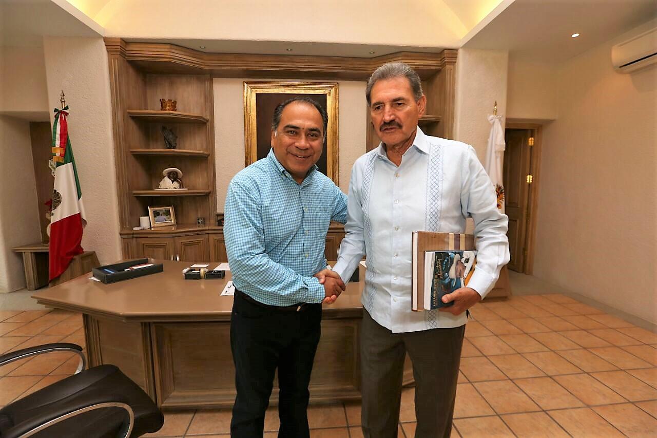 Recibe Gobernador Hector Astudillo A Nuevo Delegado De