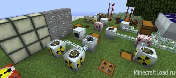 Скачать Мод Industrial Craft 2 для майнкрафт 1.12.2