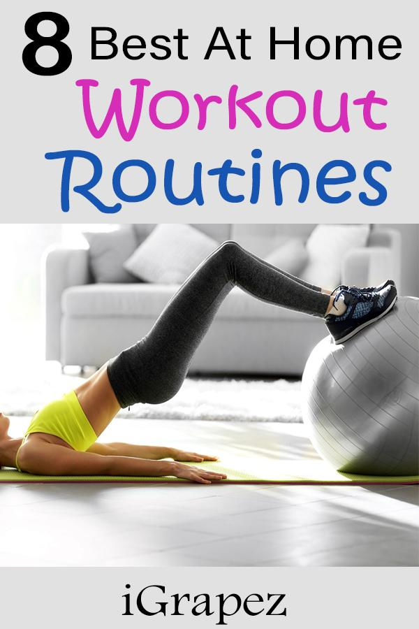 8 Best Home Workout Routines
