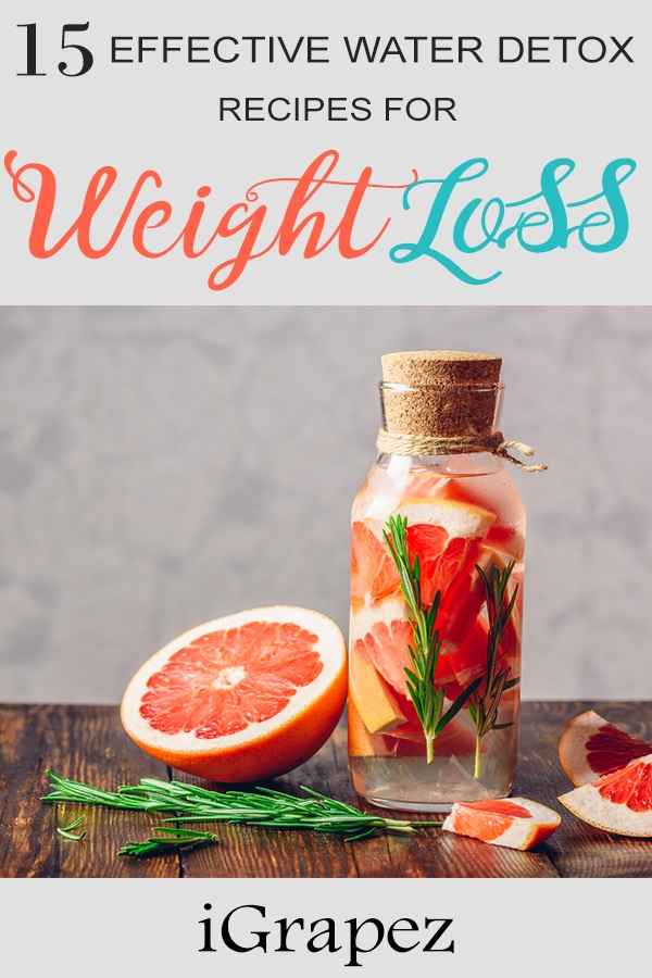 15 Effective Water Detox Recipes for Weight loss- [Tasty Beverages]