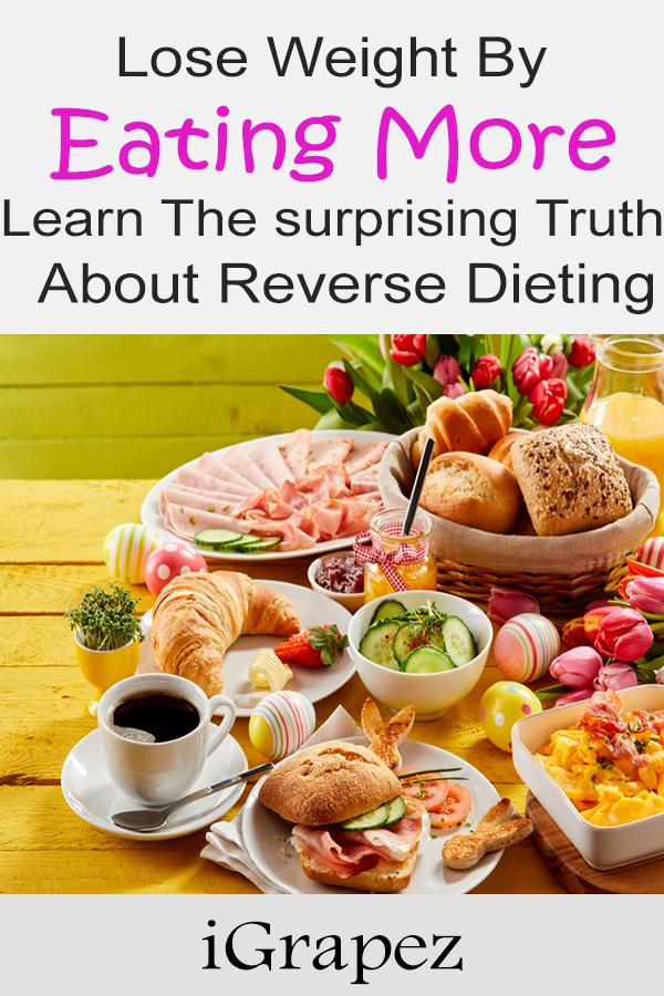 Lose Weight by Eating More Learn The Surprising Truth About Reverse Dieting