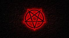 Autoridade para Trilhar o Caminho das Trevas: Imagem de um pentagrama invertido