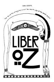 Capa de Livro: Liber LXXVII vel OZ