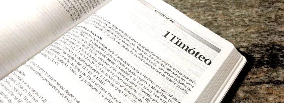 Primeira Carta a Timóteo