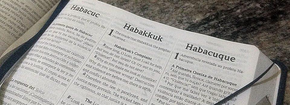 Introdução do Livro de Habacuque
