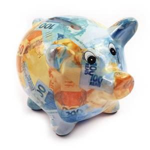 Porquinho Cheio Dinheiro