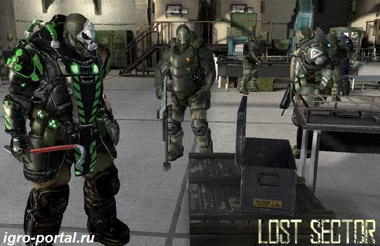 Игра-Lost-Sector-Обзор-и-прохождение-игры-Lost-Sector-2