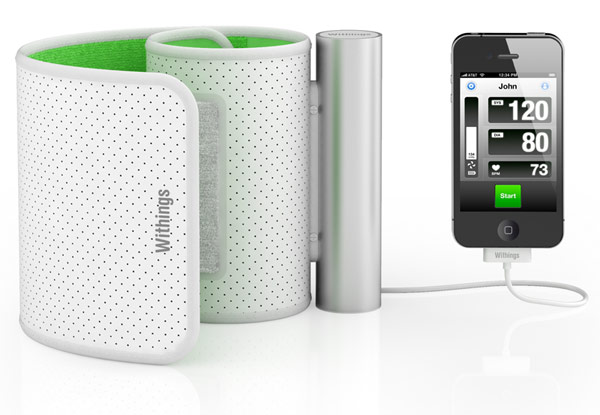 Withings Blood Pressure Monitor and the iPhone