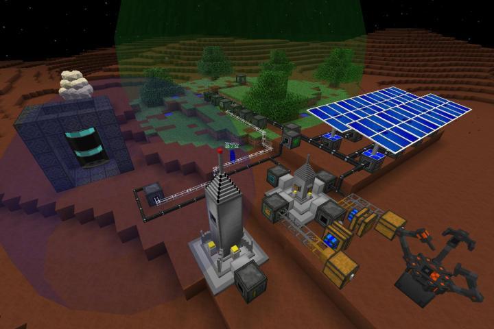 Galacticraft Mod.