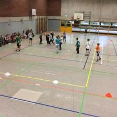 IGS Schüler spielen mit Bundesligaprofis Handball