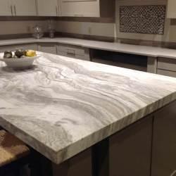 brown fantasy quartzite granite cabinets countertops marble