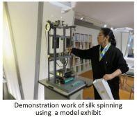 Silk M Spinning Work xx