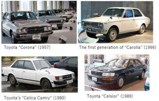 Toyota A- Model car x 13
