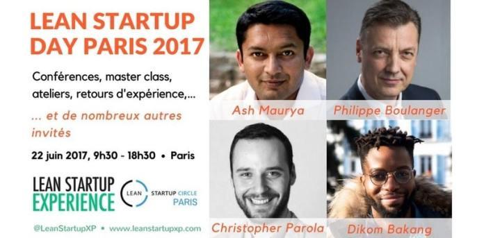 Lean Startup Day 2017 - Philippe Boulanger - Conférencier en innovation