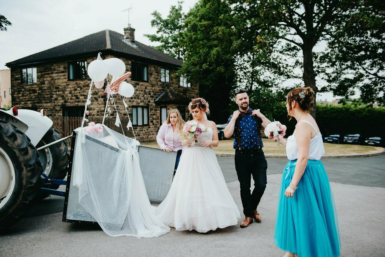 Bert's Barrow Farm Wedding Photography Leeds 18