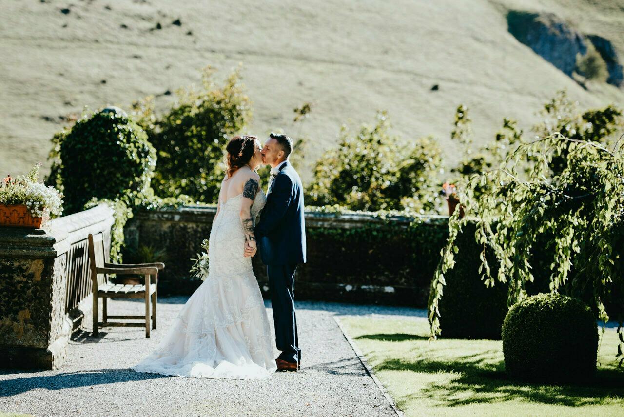 Cressbrook Hall wedding photography - Debbie and Martin 39