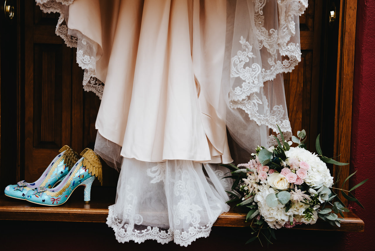 Cressbrook Hall wedding photography - Debbie and Martin 4