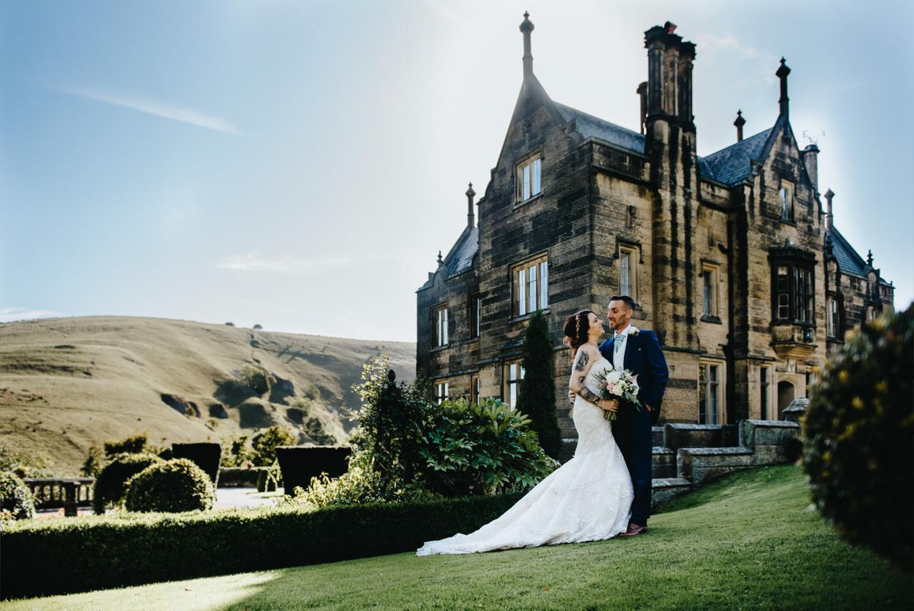 Cressbrook Hall wedding photography - Debbie and Martin 42