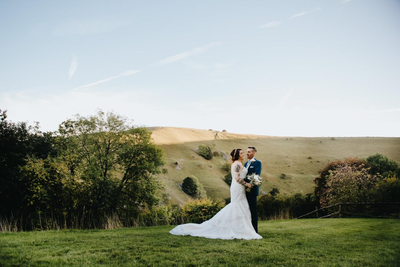 Cressbrook Hall wedding photography - Debbie and Martin 62
