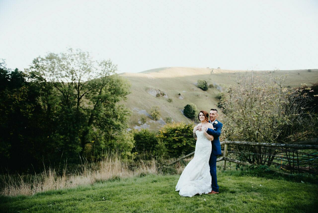 Cressbrook Hall wedding photography - Debbie and Martin 66