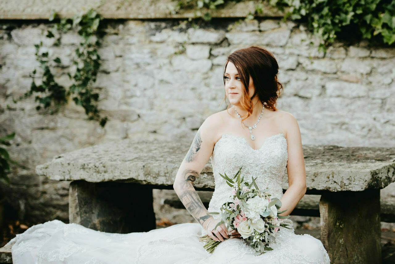 Cressbrook Hall wedding photography - Debbie and Martin 73