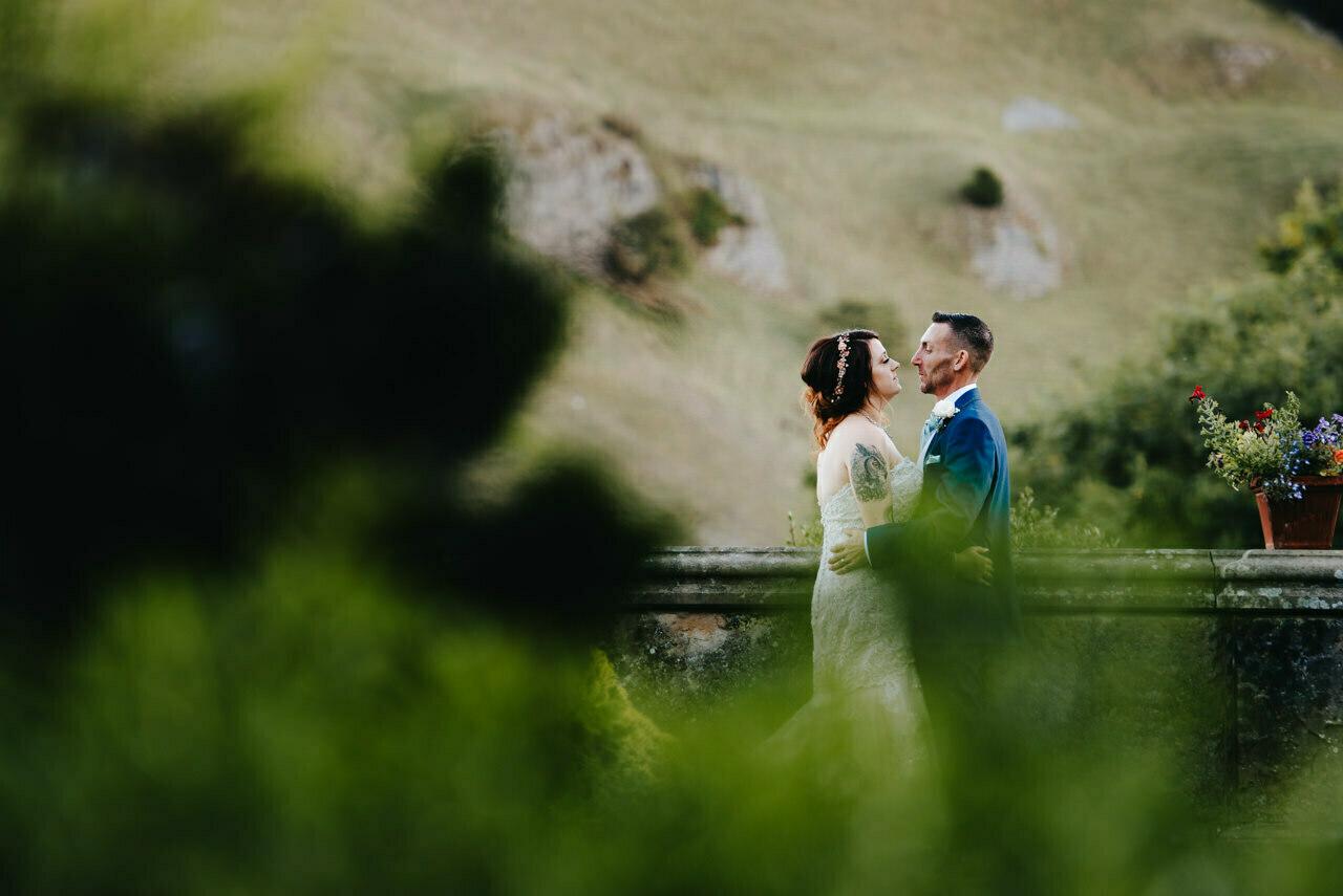 Cressbrook Hall wedding photography - Debbie and Martin 76