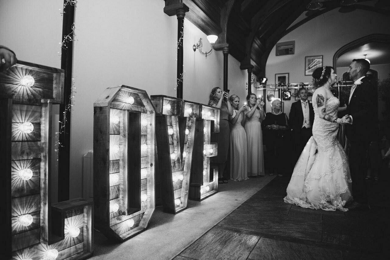 Cressbrook Hall wedding photography - Debbie and Martin 88
