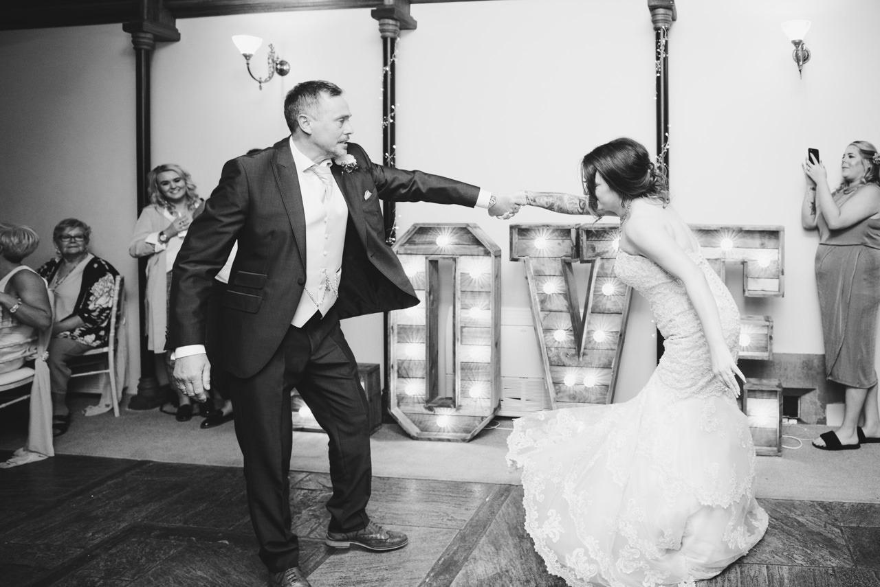 Cressbrook Hall wedding photography - Debbie and Martin 91