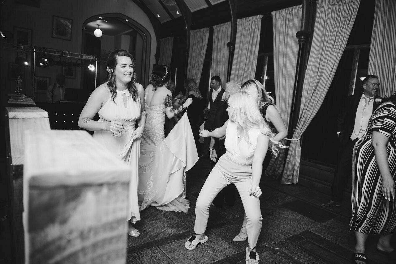 Cressbrook Hall wedding photography - Debbie and Martin 93
